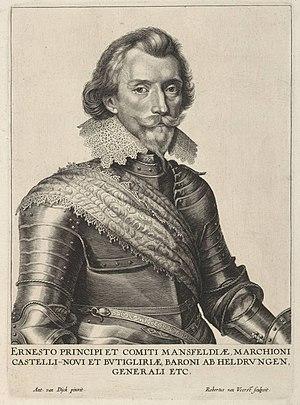 Portrait of Count Ernst Mansfeld
