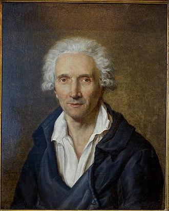 Jean Henri Riesener - Portrait by his son Henri-François Riesener, 1800, Waddesdon Manor.
