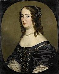 Portrait of Amalia van Solms (1602-75)