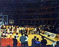 Portsmouth FC Basketball Club versus Kingston Kings, Royal Albert Hall, London, National Cup final, 15 December 1986.jpg