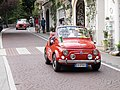 Positano Fiat 500 car rally.jpg