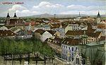 Postcard of Ljubljana from Ljubljana Castle 1922 (3).jpg