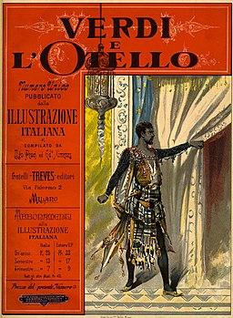 Poster Otello by Giuseppe Verdi