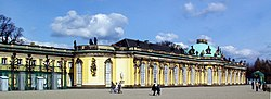 Sanssouci, former summer palace of Frederick the Great
