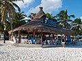 Praia Paraíso - Quintana Roo - México. Bar.jpg