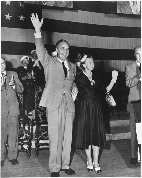 Mr. & Mrs. Prescott Bush