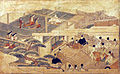 Presentation of a black horse to the Emperor on the seventh day of the New Year (5765893520).jpg