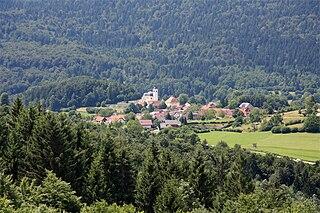 Preserje, Brezovica Place in Inner Carniola, Slovenia