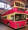 Preserved Belfast Corporation bus 2857 (EOI 4857) 1973 Daimler Fleetline Alexander (Belfast), Ulster Folk and Transport Museum, 11 January 2012.jpg