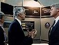 President Clinton Tours LANL, 1993 (8056998988).jpg
