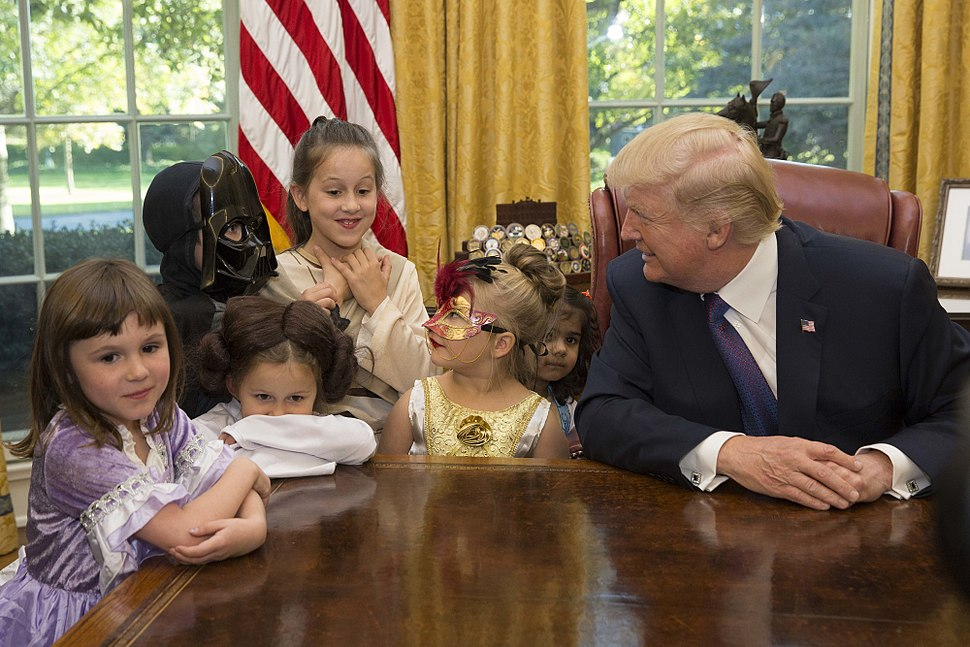 President Donald Trump Halloween 2017