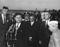President John F. Kennedy Speaks During Arrival Ceremonies for Jawaharlal Nehru, Prime Minister of India.jpg