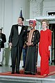 President Ronald Reagan and Nancy Reagan with Qaboos bin Said.jpg