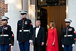 President Trump and First Lady Melania Trump at Winfield House (48007969418).jpg