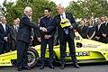 President Trump and the Indy 500 Winner (48051735508).jpg