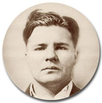 "Kansas City massacre - Charles Arthur ""Pretty Boy"" Floyd, suspected of involvement in the massacre. Photo from the FBI files."