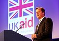 Prime Minister David Cameron, speaking at the London Summit on Family Planning (7554893808).jpg