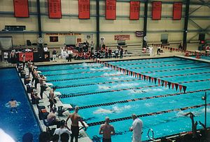 Princeton Tiger's Men's Swimming and Diving - DeNunzio Pool, home of Princeton's swimming and diving teams