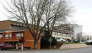 Progress, Oregon - Business and apartments in Progress