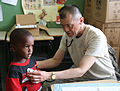 Providing medical care during Beyond the Horizon 2014 140519-A-BW446-182.jpg