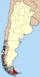 Lage der Provinz Tierra del Fuego