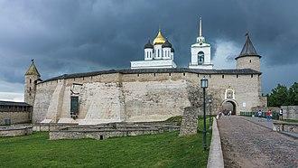 Pskov - Krom (or Kremlin) in Pskov