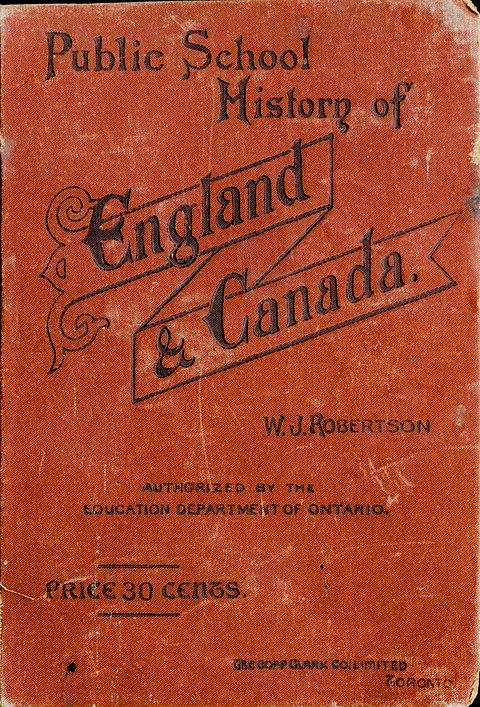 Public School History of England and Canada (1892), cover.jpg