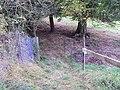 Public footpath, Gwernymynydd 2.JPG