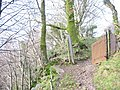 Public footpath along the top edge of the Chwarel y Faenol pit - geograph.org.uk - 350315.jpg