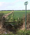 Public footpath to Peckleton - geograph.org.uk - 678095.jpg