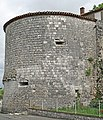 Pujols (Lot-et-Garonne) - Vestige de la tour nord-est de l'ancien château-fort.JPG