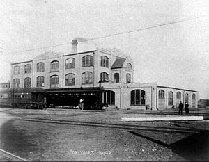 Pullman Company - The Calumet Works, circa 1900