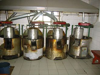 Pumpkin seed oil - Pumpkin seed oil factory in Prekmurje, Slovenia