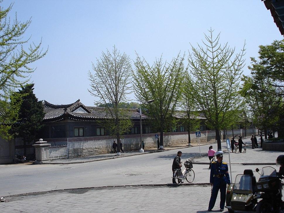 Pyongyang side street