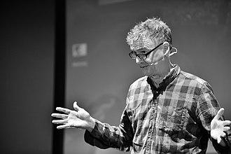 Meirion Jones - Meirion Jones speaking at QEDcon, Manchester, October 2016