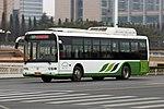 Qingdao Development Zone Bus 37 - Sunwin - SWB6115Q7-3 (Wheelchair Accessible Low-entrance) - ChangJiang Road (Middle) (16436622530).jpg
