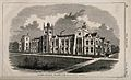 Queen's college, Belfast. Wood engraving by J. Laing after C Wellcome V0012212.jpg