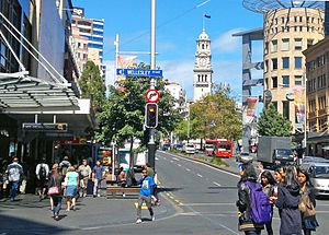 Queen Street Midtown Auckland