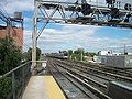 Queens Village Station; East Signal Tower.JPG
