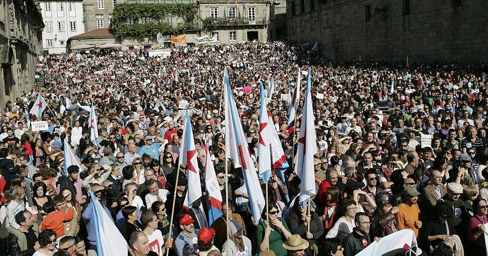 Queremos Galego. Galicia (Spain)