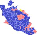 Résultats 2nd tour de la présidentielle 2012 en Vaucluse.png