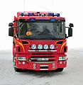 Röd brandbil Scania P360 årsmodell 2012 - 6220.jpg