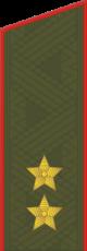 Погон к повседневному (парадному) обмундированию генерал-лейтенанта