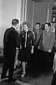 RIAN archive 67235 Tereshkova and Bykovsky in the Vietnamese embassy.jpg