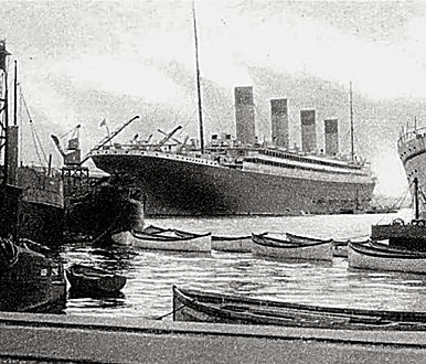 RMS Olympic%27s new lifeboats