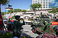 ROCMC Marine with Visitor Photograph on Humvee 20140906.jpg