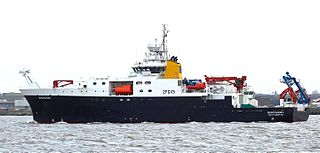 A Royal Research Ship operated by the Natural Environment Research Council