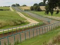 Racehorse gallops on the Trent Valley way - geograph.org.uk - 1044233.jpg