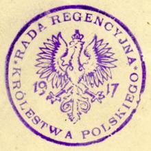 Znalezione obrazy dla zapytania rada regencyjna