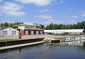 Radley College - Radley College Boat House on the Thames